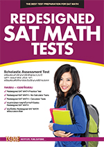 REDESIGNED SAT MATH TESTS